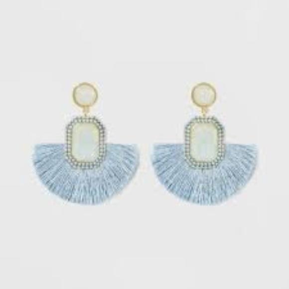 BaubleBar Jewelry - SUGARFIX by BaubleBar Monochrome Fringe Earrings